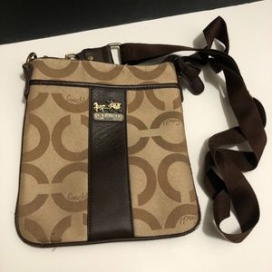 """Coach"" Crossbody Purse"